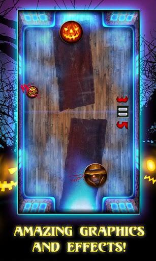 Air Hockey Halloween Screenshot