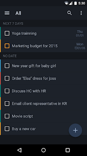 GTasks Key For Premium Feature - screenshot thumbnail