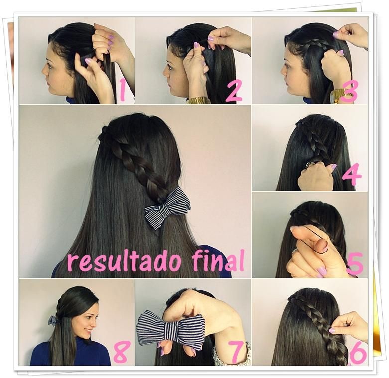 Easy Hairstyles with Braids - screenshot