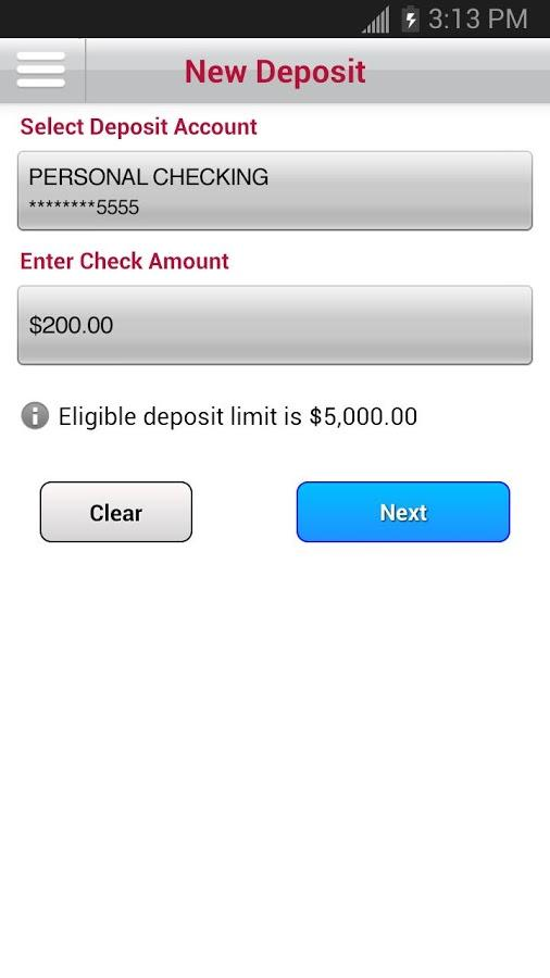 Bank of Albuquerque Mobile- screenshot