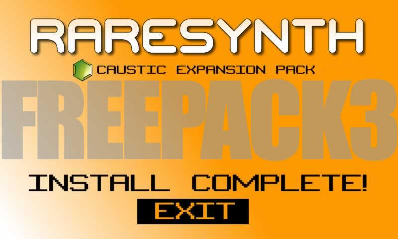 Caustic Pack FREE PACK 3 -BBA - screenshot