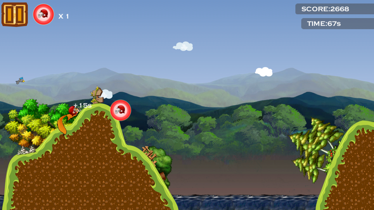 Squirrel Gliding- screenshot
