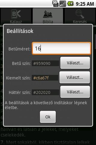 BibOlKa - Bibliaolvasó kalauz- screenshot