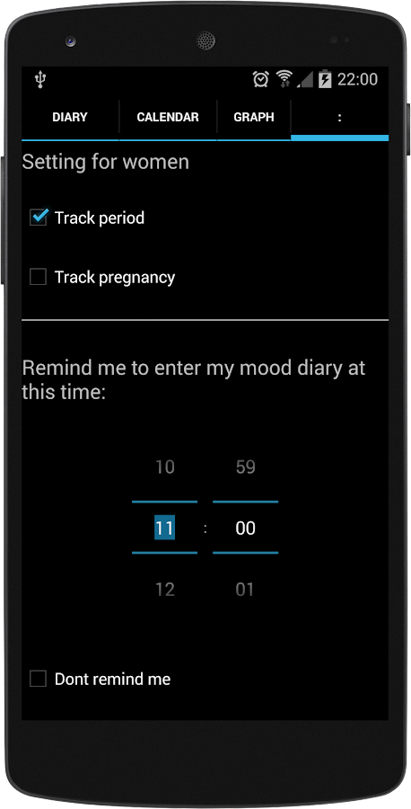 Free Mood Tracker- screenshot