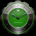 Dragon Clock widget green icon