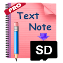 Notes2SD Text Editor Pro icon