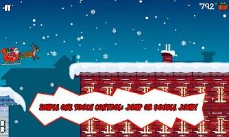 Screenshot of Santa Dash Free