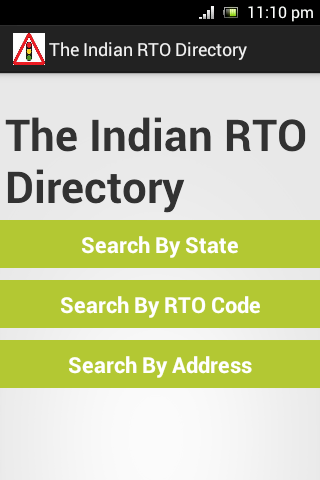 The Indian RTO Direcroty
