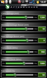 MSI Afterburner APP - screenshot thumbnail