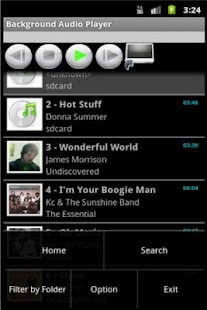 Background Audio Player - screenshot thumbnail