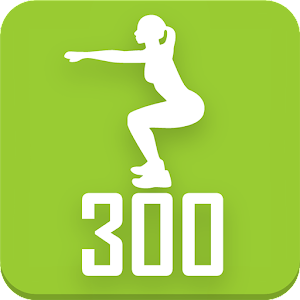300 Squats workout Be Stronger icon