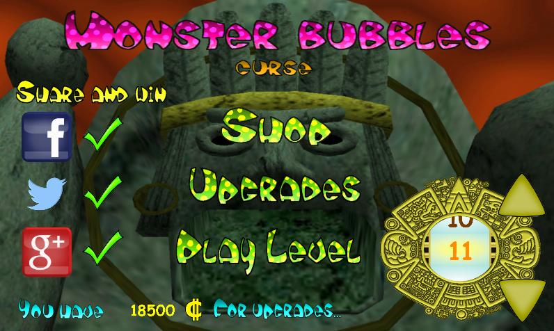 Monster Bubbles Curse (Pang) screenshot #18