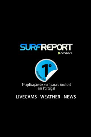 SurfReport - screenshot