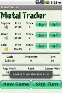 Metal Trader- screenshot thumbnail