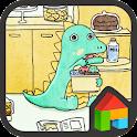 아기공룡용용 냉장고 도돌런처 테마 icon