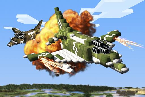 에이스 비행기 공예 - 전투 항공기의 비행 시뮬레이션