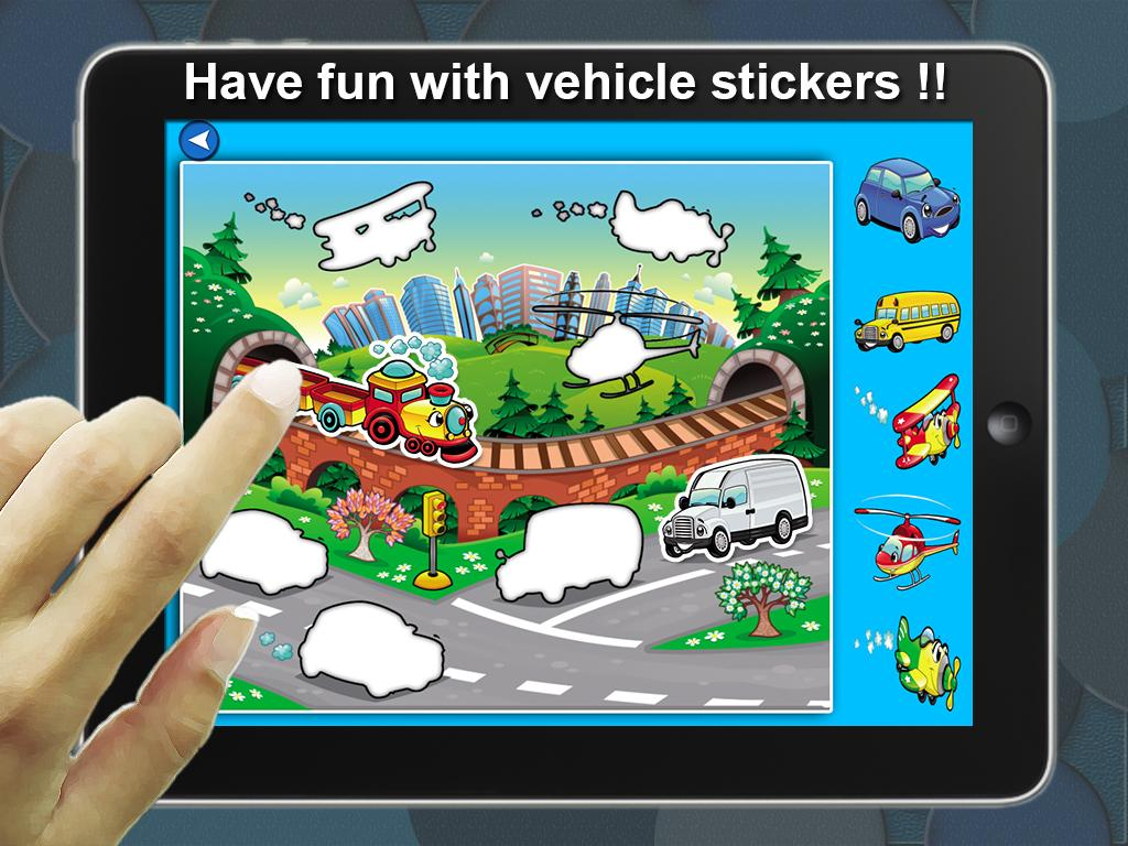 play stickers games
