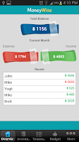 Screenshot of MoneyWise - Home Budget