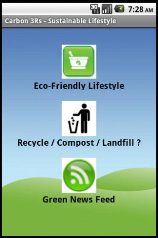 Carbon3R-Sustainable Lifestyle - screenshot