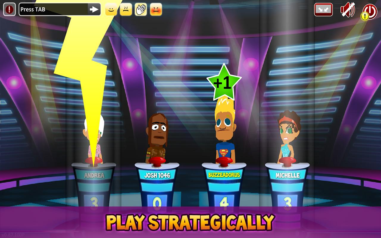 Superbuzzer Trivia Quiz Game- screenshot