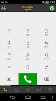 Screenshot of Bria VoIP Softphone SIP Client