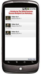 Online Success Blueprint LIVE- screenshot thumbnail