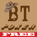 Black Texas Poker free logo