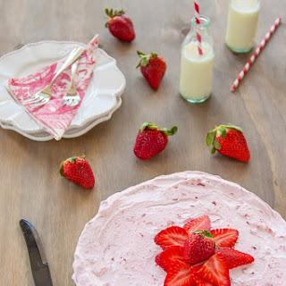 Strawberry Cloud Cake.
