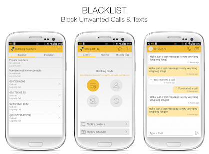 BlackList Pro- screenshot thumbnail