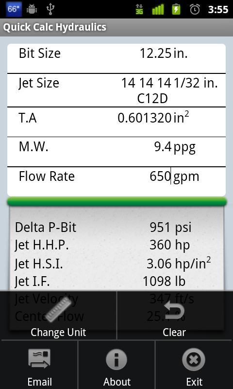 Quick Calc Hydraulics- screenshot