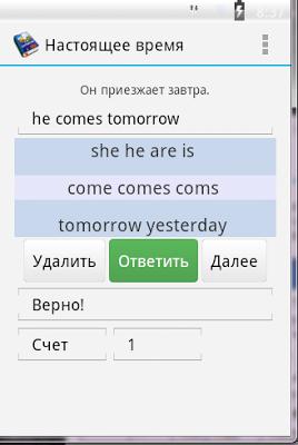 Полиглот Pro. Английский язык. - screenshot