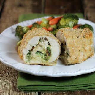 Pesto Chicken Roulades.