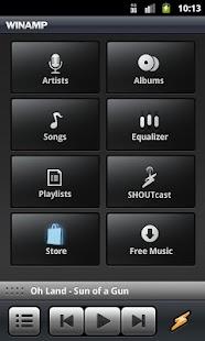 Winamp - screenshot thumbnail