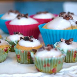 Cocoa Nibs And Rose Tea Cupcakes.