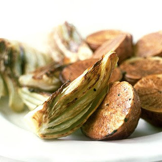 Roasted Fennel and Potatoes.