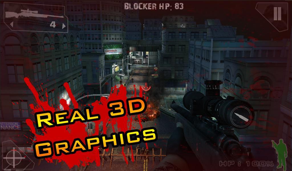 iSnipe: Zombies (Beta)- screenshot