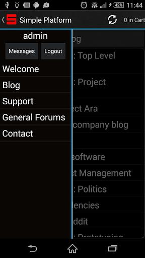 Simple Platform - Support App