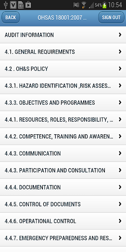 Audit Risk-OHSAS 18001:2007