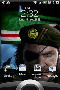 Chechen Warrior & Flag- screenshot thumbnail
