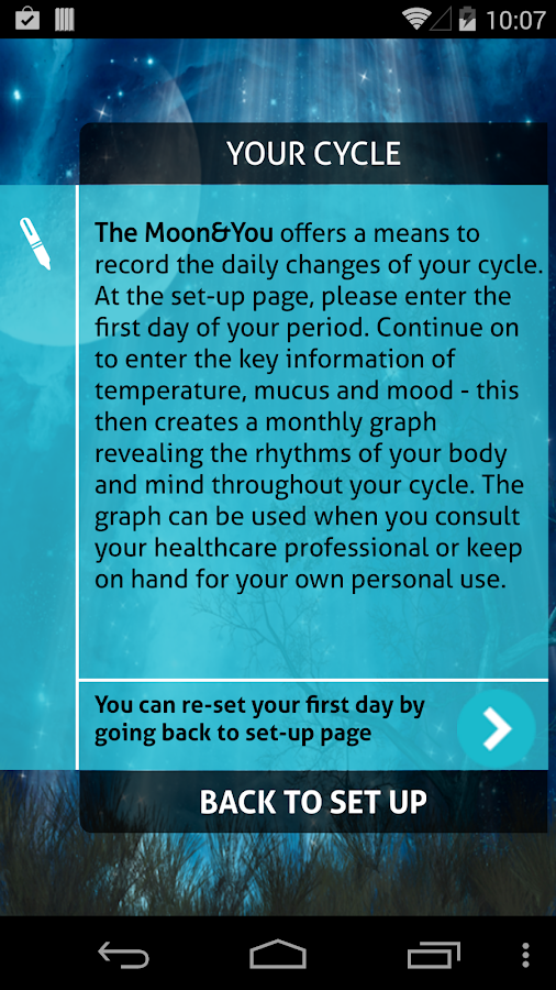 The Moon and You- screenshot