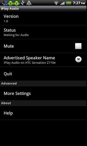iPlay Audio License