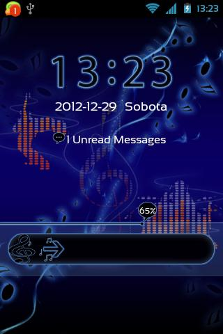 GO Locker Music Theme - screenshot
