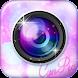 美肌かわいい!プリ並みに盛れる写真加工カメラ CunPic