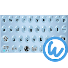 Waterdrops keyboard image icon