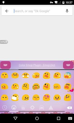 Emoji Keyboard - Lover Pink 2