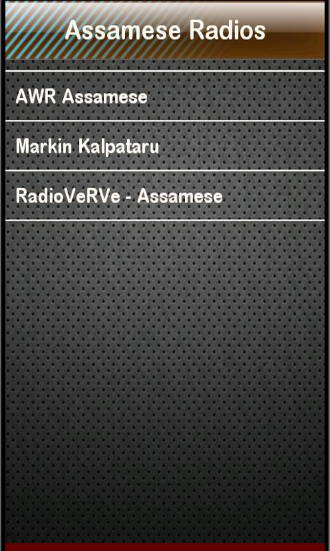 Assamese Radio Assamese Radios- screenshot