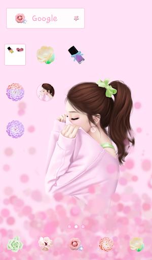 lovely girls dodol theme