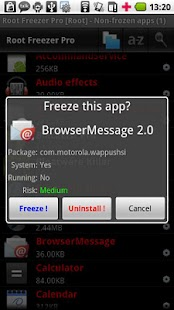 Root Freezer Pro- screenshot thumbnail