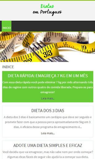 Dieta em Português