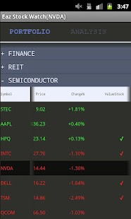 EAZ Stock Watch - screenshot thumbnail